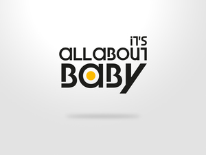 Its all about baby logo