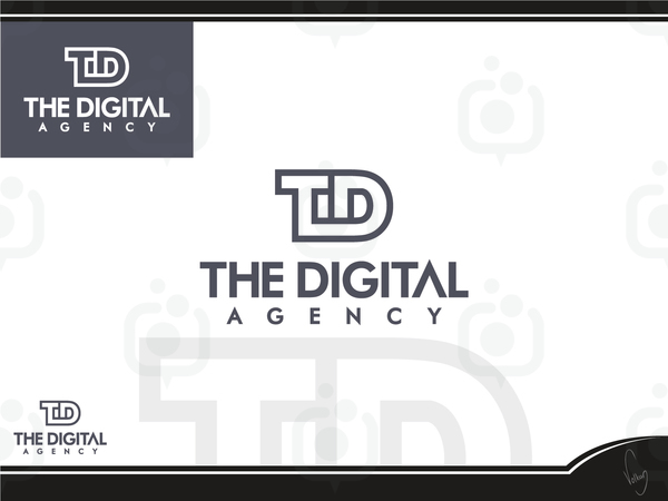 The digital agency logo 1