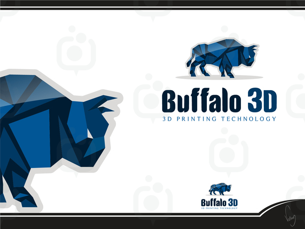 Buffalo 3d logo 1