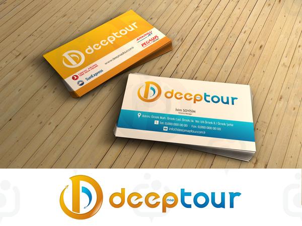 Deep tour logo ve kartvizit
