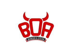 Boa burger ve steak logo 1
