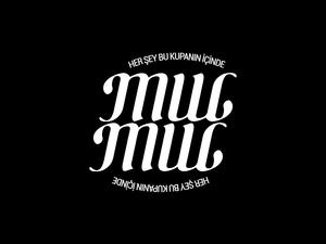 Mugmug ambigram sloganl