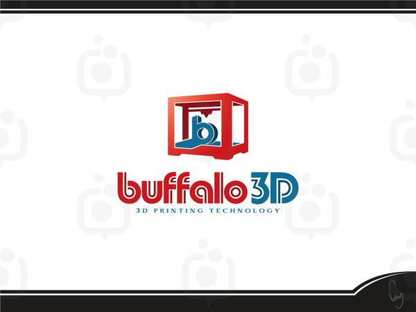 Buffalo 3d logo 10