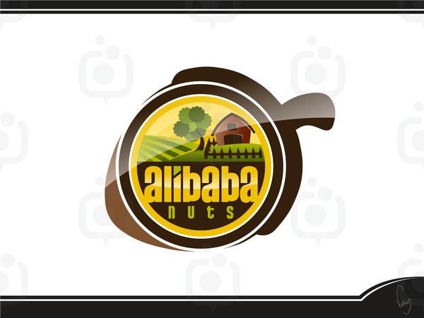 Alibaba nuts logo 2