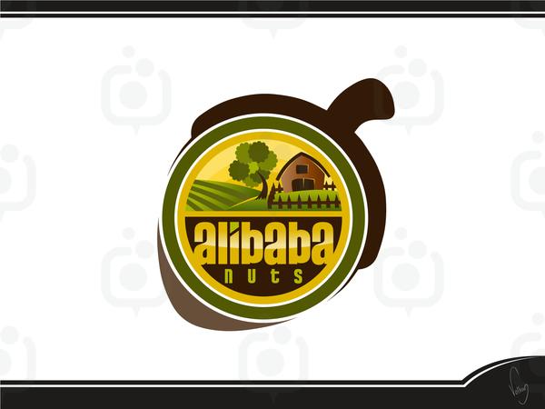 Alibaba nuts logo 3
