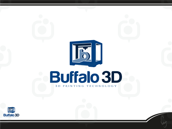 Buffalo 3d logo 11