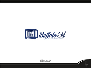 Buffalo 3d logo 9