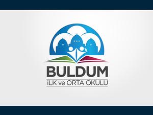 SOSYAL SORUMLULUK PROJESİDİR. Harran - Buldum Orta Okulu Logo projesini kazanan tasarım