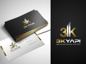 3K Yapı markamıza kurumsal kimlik  projesini kazanan tasarım