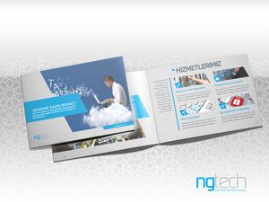 Proje#38713 - Bilişim / Yazılım / Teknoloji Katalog Tasarımı  #10