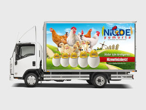 Proje#40489 - Gıda, Ticaret Araç Üstü Grafik Tasarımı  #51