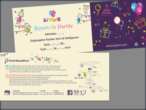 Proje#40671 - Reklam / Tanıtım / Halkla İlişkiler / Organizasyon, Hizmet Davetiye Tasarımı  #55