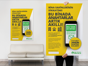 Proje#54215 - Bilişim / Yazılım / Teknoloji Afiş - poster  #13