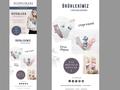 Proje#55865 - Tekstil / Giyim / Aksesuar e-posta Şablonu Tasarımı  -thumbnail #12