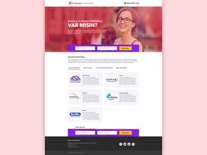 Proje#57191 - Eğitim Landing Page Tasarımı  #3