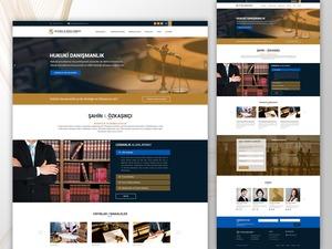 Proje#63784 - Avukatlık ve Hukuki Danışmanlık Statik web sitesi (html5+css)  #13