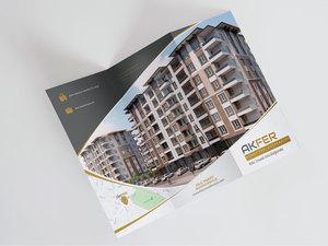 Proje#65909 - İnşaat / Yapı / Emlak Danışmanlığı El İlanı Tasarımı - Altın Paket  #46