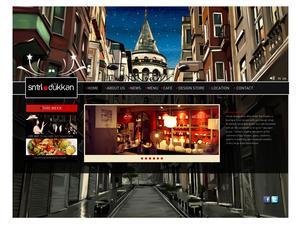 Proje#8171 - Restaurant / Bar / Cafe, Mağazacılık / AVM Statik Web Sitesi (html5+css)  #28