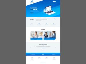 Proje#75721 - Bilişim / Yazılım / Teknoloji Statik Web Sitesi (html5+css)  #15