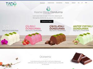 Proje#80396 - Gıda Web Sitesi Tasarımı (psd)  #10