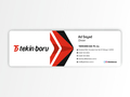Proje#81433 - Üretim / Endüstriyel Ürünler Kartvizit Tasarımı  -thumbnail #4