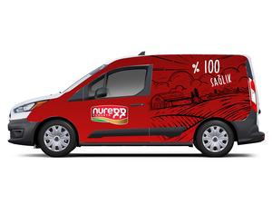 Proje#82592 - Gıda Araç Üstü Grafik Tasarımı  #11