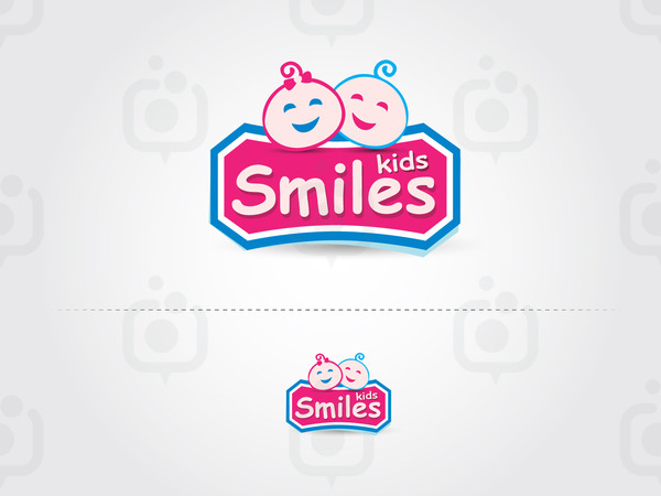 Smiles kids logo01
