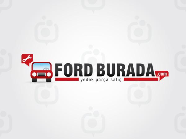 Ford burada logo01