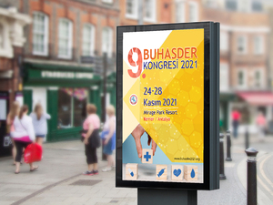 Proje#92776 - Reklam / Tanıtım / Halkla İlişkiler / Organizasyon Afiş - Poster Tasarımı  #14
