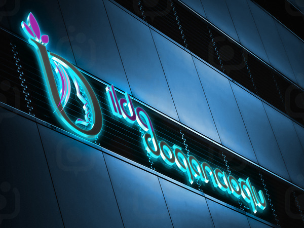 Building logo light