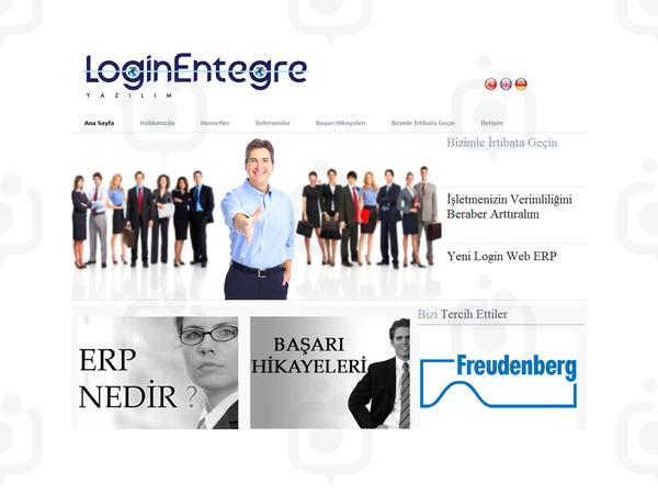 Login web
