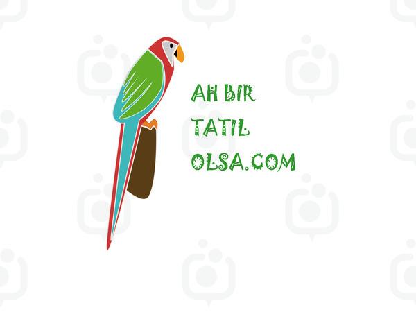 Ah bir tatil olsa .com papağan