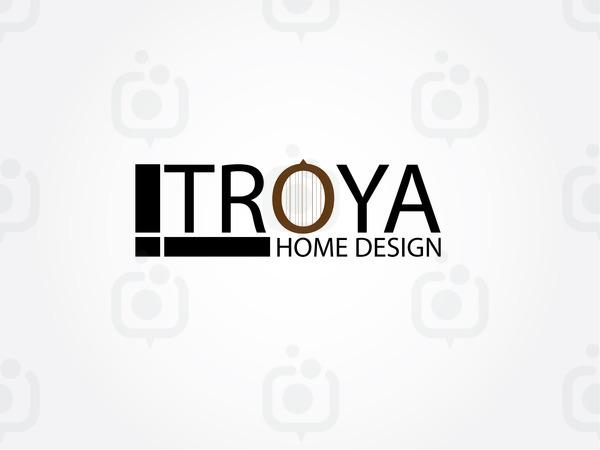 Troya home desing logo 1