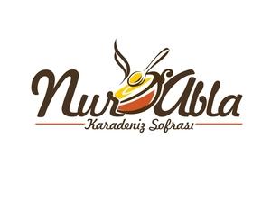 Nur Abla Karadeniz Sofrası için yeni Logo çalışması projesini kazanan tasarım