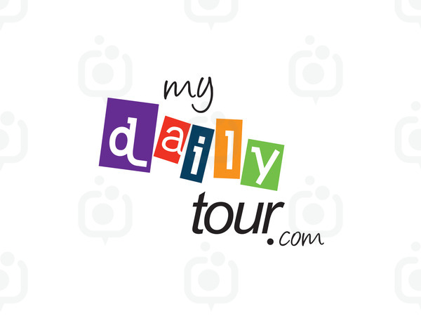 My daily tour logo port i in