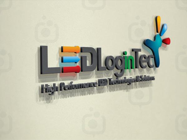 Led login tech logo 16
