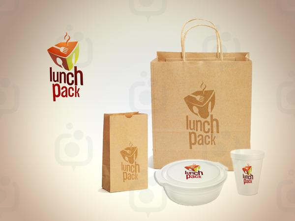 Lunchpack kurumsal kimlik