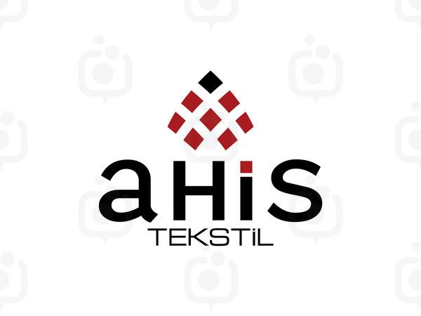 Ahis tekstil logo
