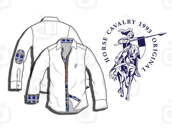 Horse cavalry copy