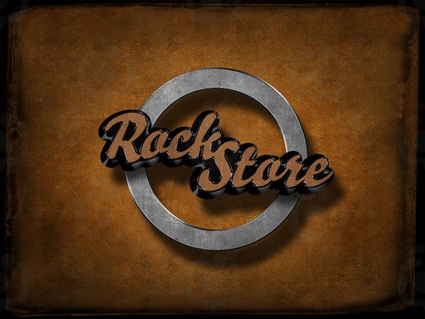 Rock store stylish