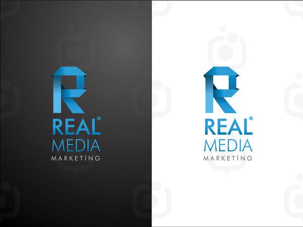 Real medya logo