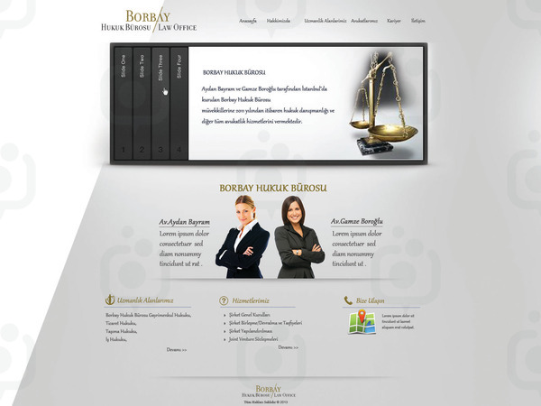 Borbay hukuk web sitesi tasar m 12