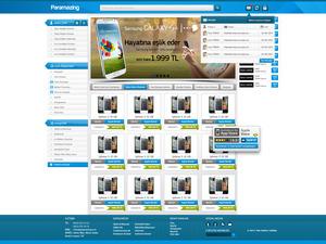 Proje#19877 - e-ticaret / Dijital Platform / Blog Web Sitesi Tasarımı (psd)  #22
