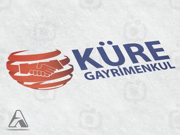 K re gayrimenkul logo dipnot arif demiroz konya tasarim