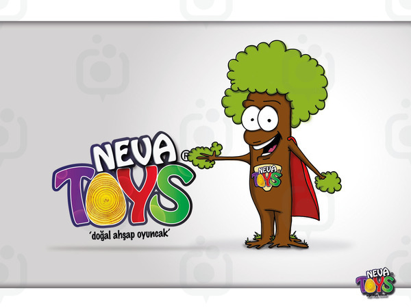 Neva toys maskot