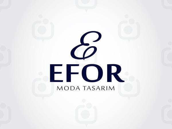 Efor moda tasarim logo01