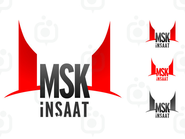 msk İnŞaat logo tasarimi sayfa 1 idemamacom