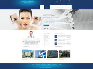 Proje#21037 - Sağlık, Turizm / Otelcilik Ana Sayfa Tasarımı   #51