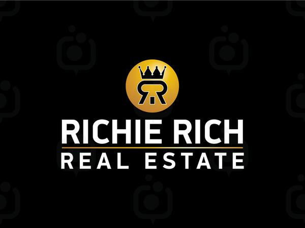 Richie rich real estate logo