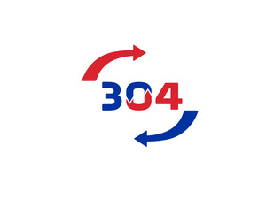 304 3